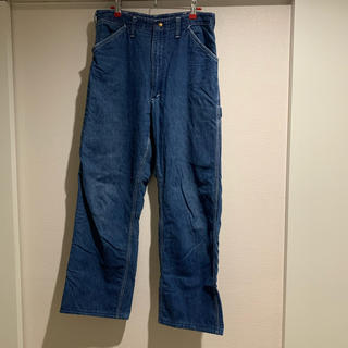 カーハート(carhartt)のcarhartt denim pants 70s 70年代 42TALONZIP(ワークパンツ/カーゴパンツ)