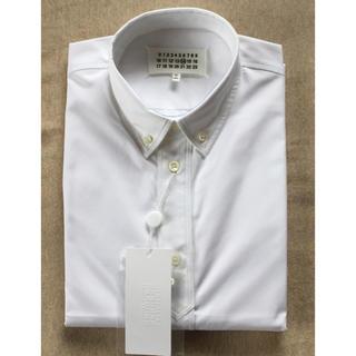 マルタンマルジェラ(Maison Martin Margiela)の白41新品56%off メゾンマルジェラ ポプリン 長袖シャツ メンズ ホワイト(シャツ)