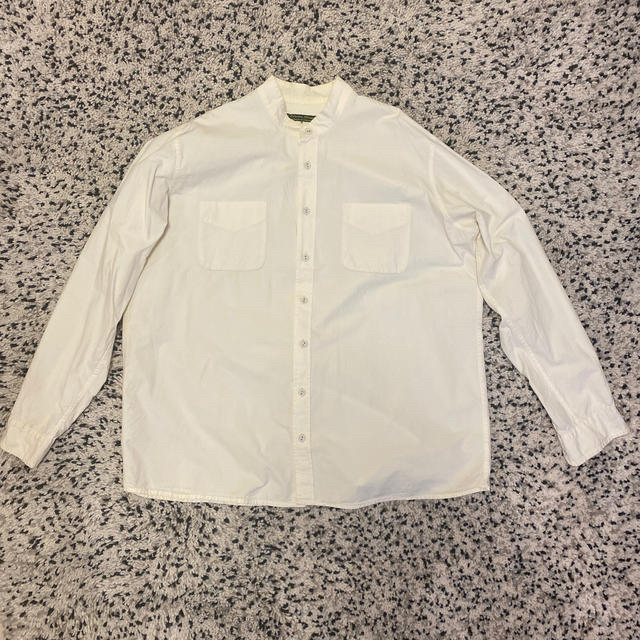 Paul Harnden(ポールハーデン)の希少 ポールハーデン Paul Harnden 長袖シャツ S オフホワイト メンズのトップス(シャツ)の商品写真