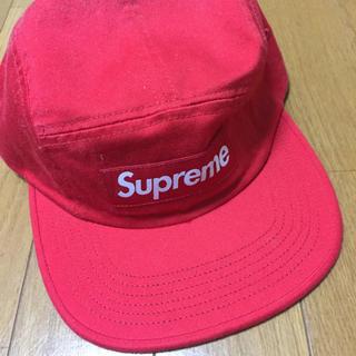 シュプリーム(Supreme)のsupreme Washed Chino Twill campcap(キャップ)