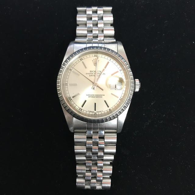 カルティエ 時計 昔 、 ROLEX - ロレックス   デイトジャスト  16220 R番 腕時計 メンズの通販 by dekkun's shop