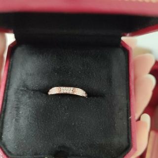カルティエ(Cartier)のCartier カルティエ ィダイヤ リング 指輪(リング(指輪))
