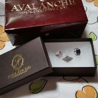 アヴァランチ(AVALANCHE)の新品アヴァランチメンズピアス3セット片耳用(ピアス(片耳用))