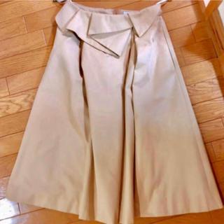 マイストラーダ(Mystrada)のmystrada ペプラム トレンチ スカート(ひざ丈スカート)