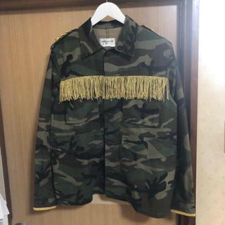 OFF-WHITE - サンローラン 型 dude9 stud homme 迷彩 ジャケット