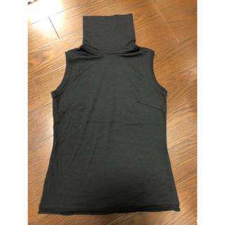 ルシェルブルー(LE CIEL BLEU)のルシェルブルー購入  サイズ38  ブラック(カットソー(半袖/袖なし))