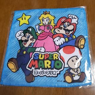 ニンテンドースイッチ(Nintendo Switch)のマイクロファイバーハンカチ スーパーマリオ(キャラクターグッズ)