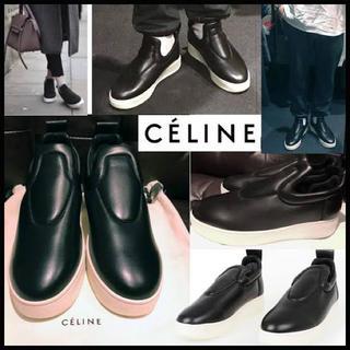 セリーヌ(celine)の売り切れ【国内正規品】CELINE スリッポン (スリッポン/モカシン)