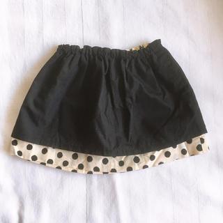 ボンポワン(Bonpoint)のSOULEIADO 水玉スカート 80(スカート)