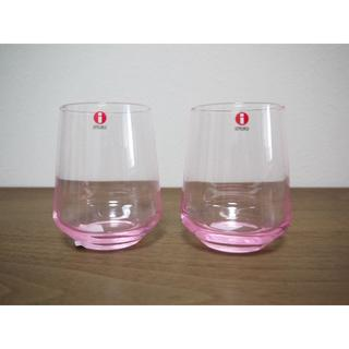 イッタラ(iittala)のイッタラ エッセンス タンブラー 350m  ペールピンク 2点 新品   (グラス/カップ)