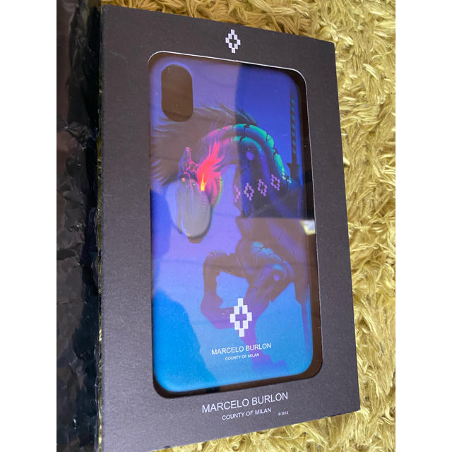 MARCELO BURLON - MARCELO BURLON iphoneケース 定価1万の通販