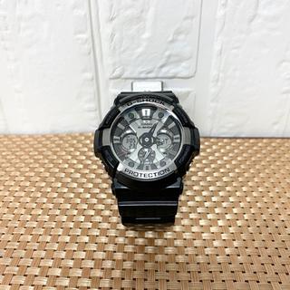 ジーショック(G-SHOCK)のCASIO G-SHOCK クオーツ ガリッシュブラック ga-200bw(腕時計(デジタル))