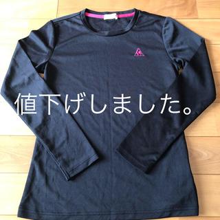 ルコックスポルティフ(le coq sportif)のルコック レディースランニングTシャツ Mサイズ(ウェア)