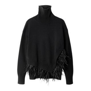 ルシェルブルー(LE CIEL BLEU)のFeather Knit Tops(ニット/セーター)