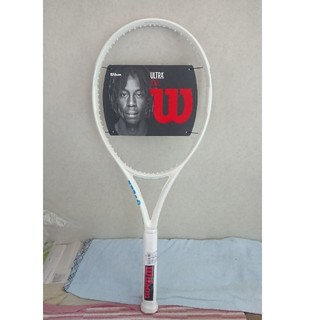 ウィルソン(wilson)のウイルソン Wilson 硬式テニスラケット ULTRA 100L White(ラケット)