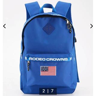 ロデオクラウンズワイドボウル(RODEO CROWNS WIDE BOWL)の☆フラッククラウンズリュック☆RCWB(リュック/バックパック)