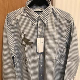 ユニフォームエクスペリメント(uniform experiment)のUE ギンガムチェック B.Dシャツ 新品未使用(シャツ)