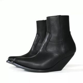 バレンシアガ(Balenciaga)の新品 Vetements ヴェトモン ブーツ 17FW サイズIT35(ブーツ)