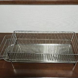 【最終値下】ラバーゼLaBase  ステン水切りラック(収納/キッチン雑貨)
