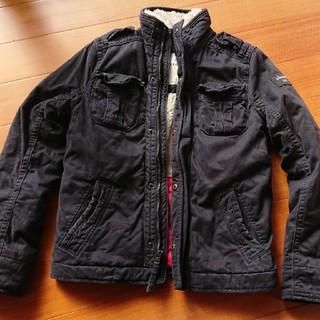 アバクロンビーアンドフィッチ(Abercrombie&Fitch)のアバクロンビー&フィッチ メンズ ボアジャケット 防寒 ジャケット(ミリタリージャケット)