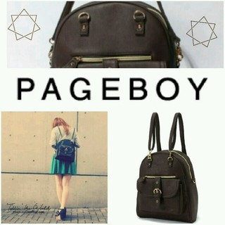 ページボーイ(PAGEBOY)の完売色♡新品ページボーイ2wayバッグ(リュック/バックパック)