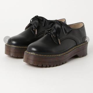 ダブルクローゼット(w closet)のwcloset ダブルクローゼット 厚底レースアップシューズ(ローファー/革靴)