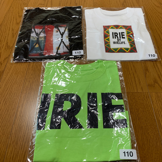 アイリーライフ(IRIE LIFE)の◆新品未使用◆irie life子供用Tシャツ 110サイズ 3枚セット④(Tシャツ/カットソー)
