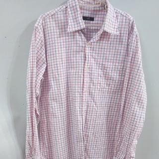 ニジュウサンク(23区)の23区ONWARDチェックシャツLサイズ(シャツ)