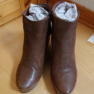 新品COQUEショートブーツ38(ブーツ)
