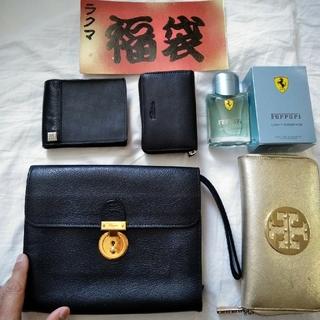 サルヴァトーレフェラガモ(Salvatore Ferragamo)の福袋 メンズ用 Ferragamo、dunhill、トリバーチ、他バック、財布(セカンドバッグ/クラッチバッグ)