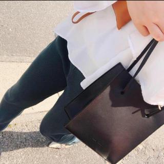 ステュディオス(STUDIOUS)の【CLANE】TRAPEZOID HAND BAG(ハンドバッグ)
