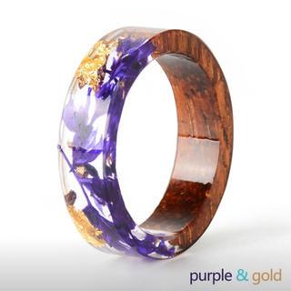 11号 指輪 リング レディース ウッドリング アクセサリー(リング(指輪))