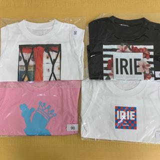 アイリーライフ(IRIE LIFE)の◆新品未使用◆irie life子供用Tシャツ 90サイズ 4枚セット①(Tシャツ/カットソー)