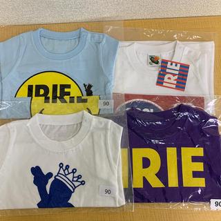 アイリーライフ(IRIE LIFE)の◆新品未使用◆irie life子供用Tシャツ 90サイズ 4枚セット②(Tシャツ/カットソー)