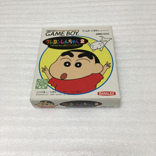 ゲームボーイ(ゲームボーイ)のクレヨンしんちゃん2 オラとわんぱくごっこだゾ ゲームボーイ GB(家庭用ゲームソフト)