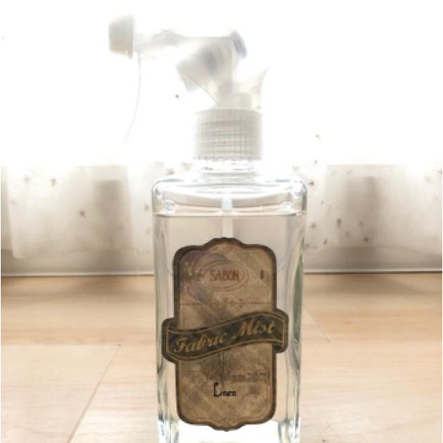 SABON(サボン)のSABON サボン  ファブリックミスト ピオニー コスメ/美容のリラクゼーション(アロマグッズ)の商品写真