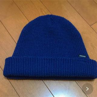 マウジー(moussy)のmoussy ワッフルニット帽(ニット帽/ビーニー)