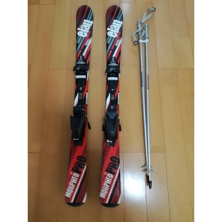 エラン(Elan)のジュニア 子供用 スキー板 110cm  ストック付き(板)