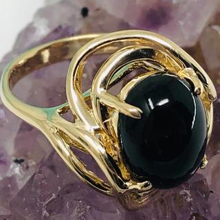 used k14 黒珊瑚 リング サイズ10.5号(リング(指輪))