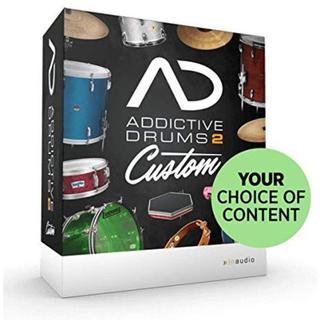 アディクティブ(ADDICTIVE)のaddictive drums 2 custom アディクティブドラム(ソフトウェア音源)