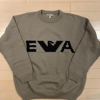 エンポリオアルマーニ(Emporio Armani)のアルマーニ メンズセーター(メリノウール100%)(ニット/セーター)
