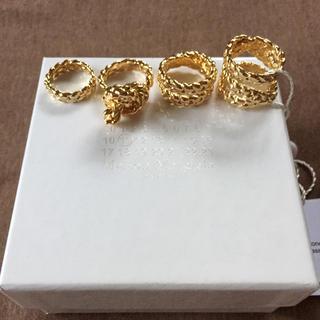 マルタンマルジェラ(Maison Martin Margiela)の新品 メゾンマルジェラ ロープ 4連リング 指輪   (リング(指輪))