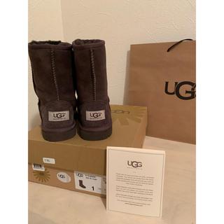 アグ(UGG)の熟れトマトさん専用 UGG classic ムートンブーツ  ブラウン 19cm(ブーツ)