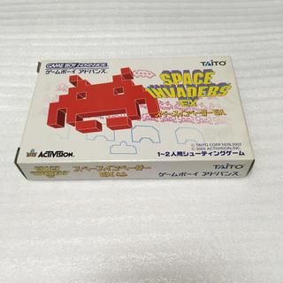 ゲームボーイアドバンス(ゲームボーイアドバンス)のタイトー スペースインベーダーEX ゲームボーイアドバンス GBA(家庭用ゲームソフト)