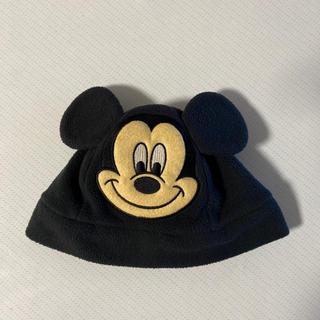 ディズニー(Disney)のディズニーランド★ミッキーフリース帽子(帽子)