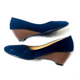 ブルーブルーエ(Bleu Bleuet)のスエードパンプス(ハイヒール/パンプス)