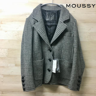 moussy - 新品タグ付き【MOUSSY】ジャケット (S) テーラード ウール 千鳥格子