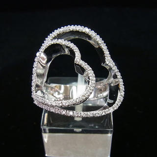 ポンテヴェキオ(PonteVecchio)のポンテヴェキオ ダイヤ リング 0.30ct 12号 10.7g  ポリッシュ(リング(指輪))