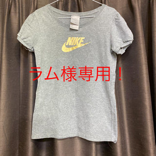 ナイキ(NIKE)のNIKE ゴールド×グレー Tシャツ(Tシャツ(半袖/袖なし))