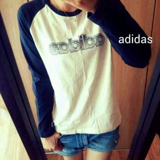 アディダス(adidas)のadidas ラグラン カットソー(Tシャツ(長袖/七分))